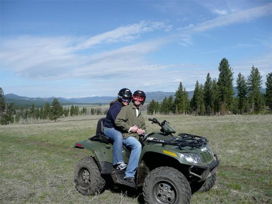 The Resort at Paws Up: ATV tour