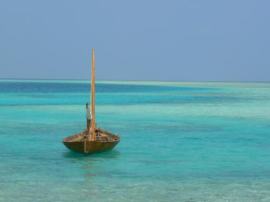 Baros Maldives: A boat to nowhere