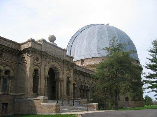 The Bailey House: The Yerkes Observatory (across the street)