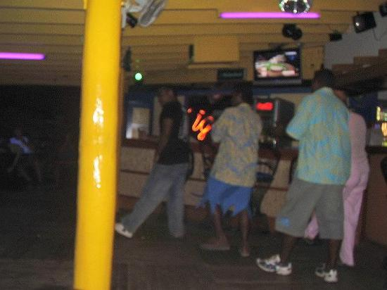 Fiji Hideaway Resort & Spa: some of the staff dancing