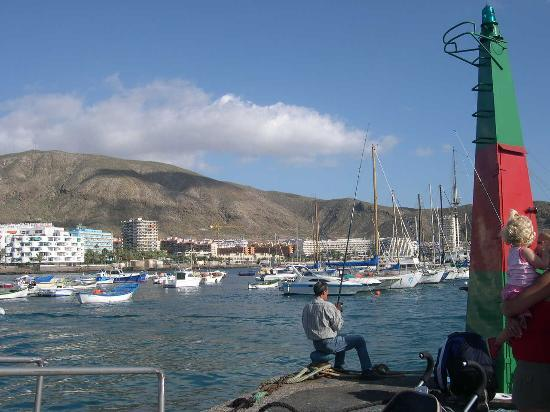 Плайя-де-лас-Америкас, Испания: View of Los Cristianos