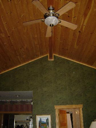 Couples Resort: Vaulted ceilings