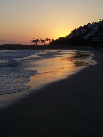 Beautiful ixtapa sunset