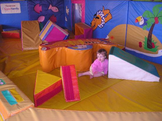 Protur Bonaire Aparthotel: Soft play area