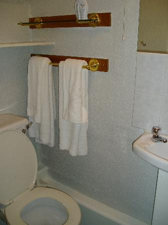 Beresford Hotel: clean toilet