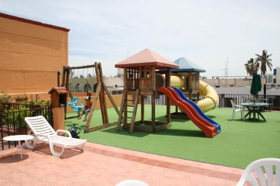 Kids Play Area On The Roof Picture Of Hotel Perla La