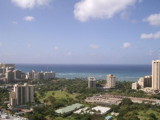 Hawaiian Monarch Hotel : Penhouse Living room ocean view