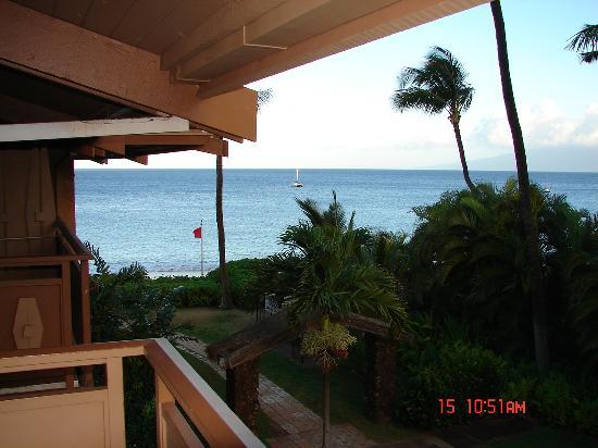 Kaanapali Ocean Inn: View from the balcony