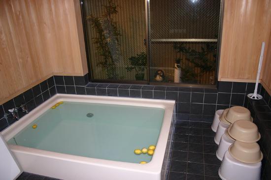 เรียวกัว ชิมิซุ: Il bagno comune (o-furo)