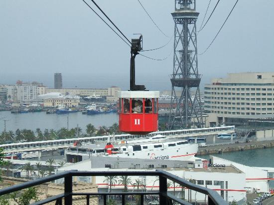 Hotel 1898: cable car to world trade centre