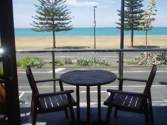Pebble Beach Motor Inn: View