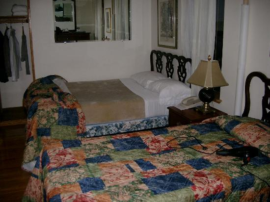 The Amsterdam Inn: Room 406, Double bed room