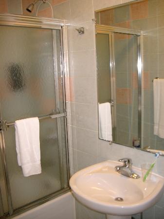 The Amsterdam Inn: Room 406 bathroom