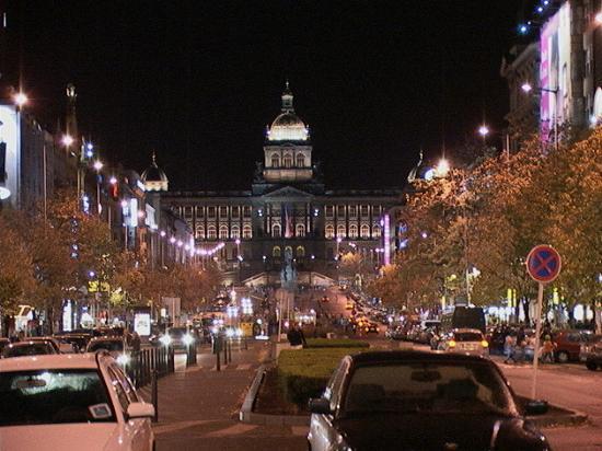 Prague at night picture of design hotel josef prague for Design hotel prague tripadvisor