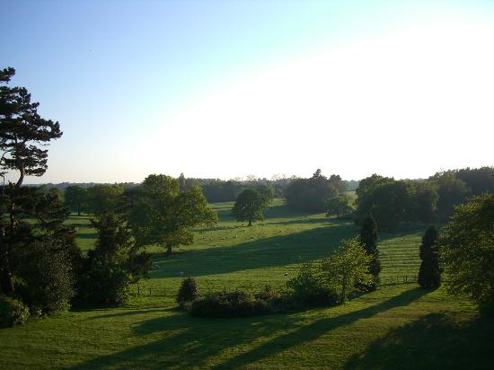 Wroxall Abbey Hotel & Estate: View from our room