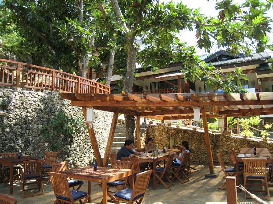 The Strand: Cafe area