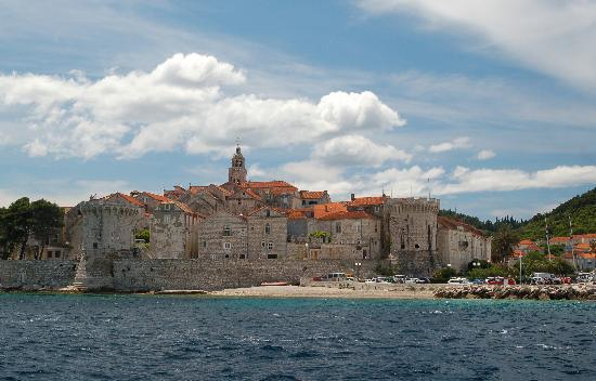 Korcula Island - Priscapac : Korcula - Home Town of Marco Polo