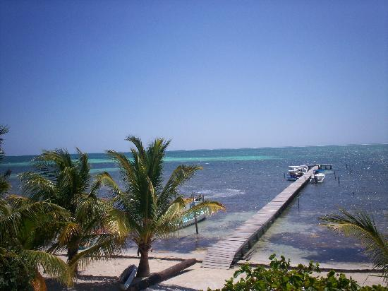 Costa Maya Beach Cabanas: view from our room
