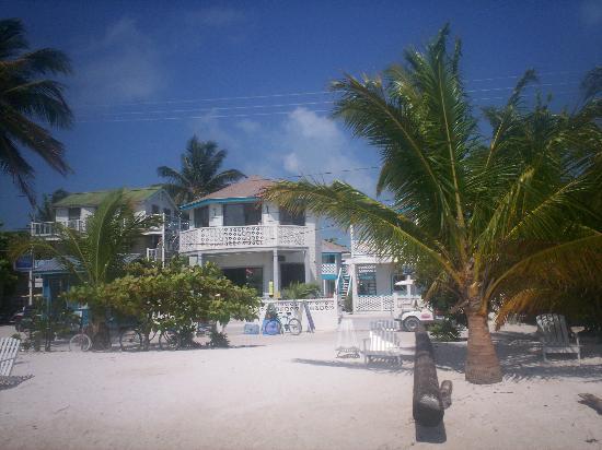 Costa Maya Beach Cabanas: our beach