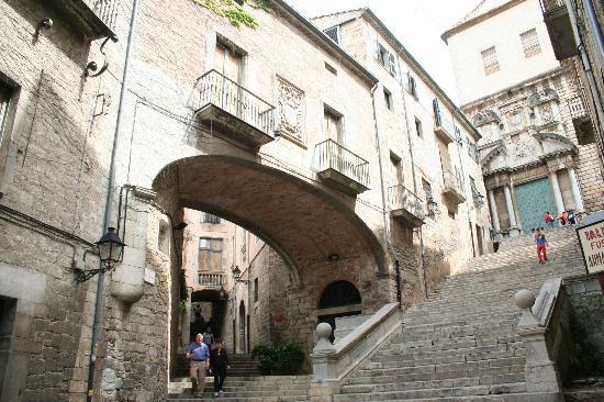 Hotel Peninsular: Pujada Sant Domenec