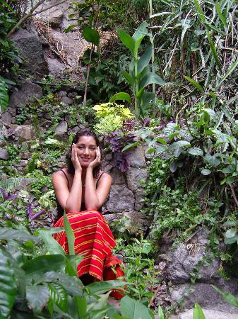 Lush Atitlan/Hotel Aaculaax : The garden