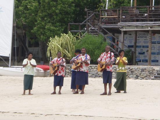 Castaway Island Fiji: My welcome party