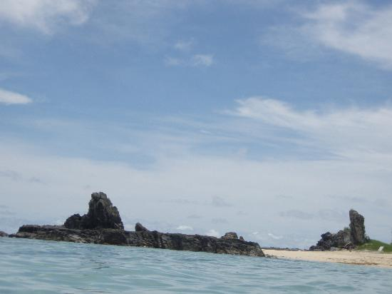 Castaway Island Fiji: Monkey rock
