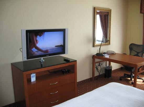 Hilton Garden Inn Las Vegas/Henderson: Superb HD TV