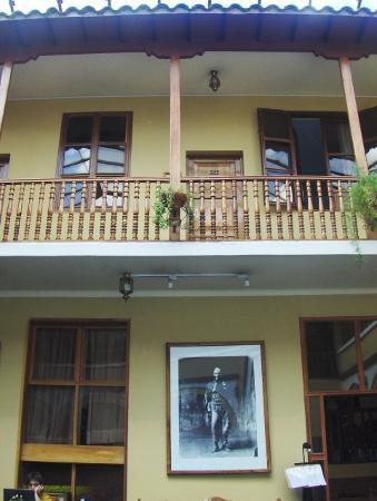 Los Andes De America Hotel: patio