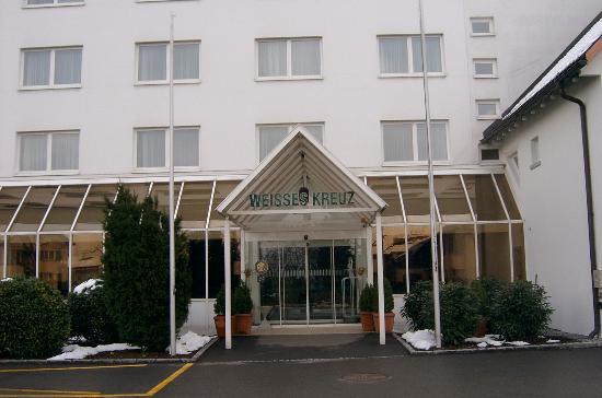 Hotel Weißes Kreuz: front 2