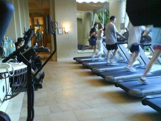 Four Seasons Resort Maui at Wailea: Work Out Area