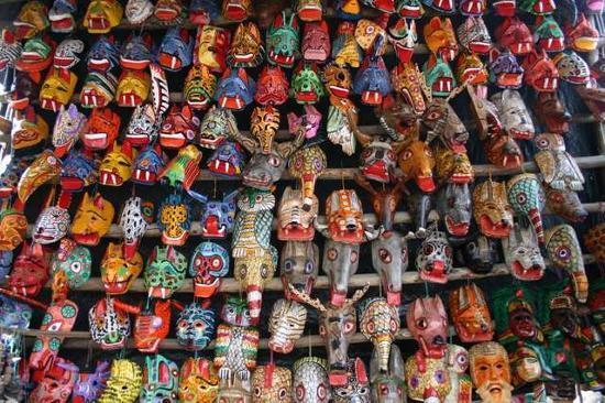 Guatemala: Mascaras tradicionales