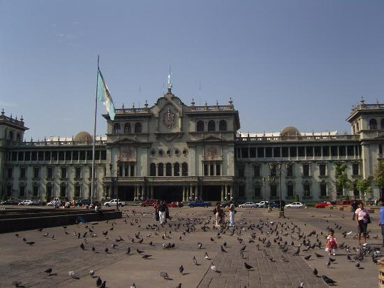 Γουατεμάλα: Palacio Nacional, Downtown Guatemala city