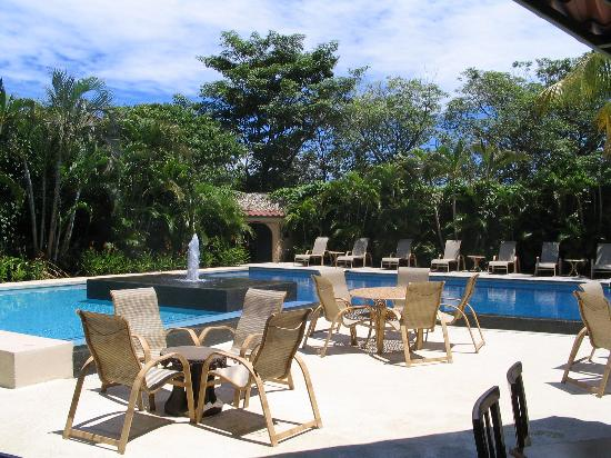 Hotel Coco Palms : Pool area