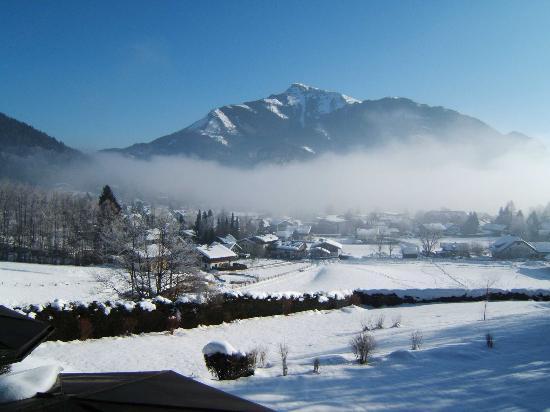 Hollweger: View From Balcony in Winter.