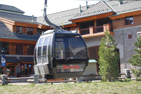 The Gondola at Heavenly ภาพถ่าย