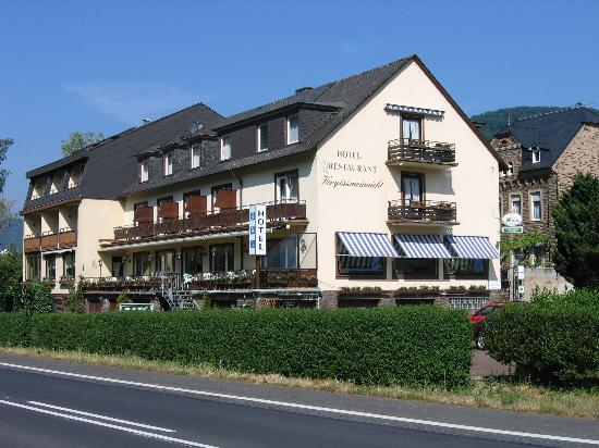 Ellenz-Poltersdorf, Germany: the hotel