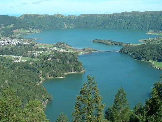 Wyspa Świętego Michała, Portugalia: Sete Cidades Lake
