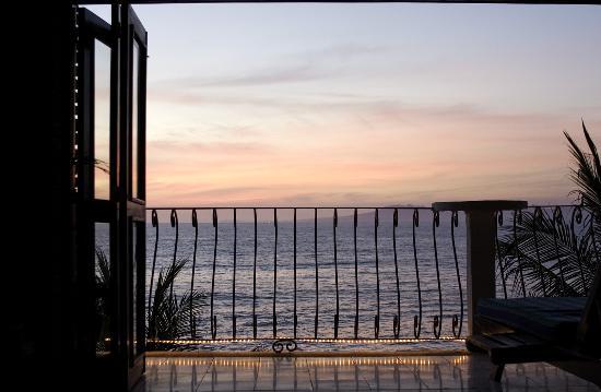 Vallarta Shores: Teil unseres Balkons