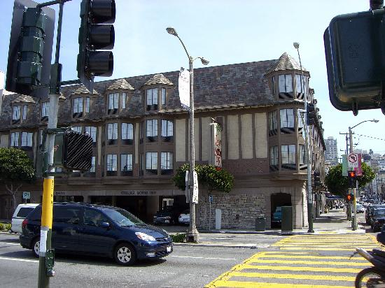 side elevation of motel picture of chelsea motor inn. Black Bedroom Furniture Sets. Home Design Ideas