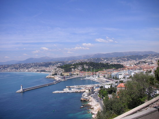 Nizza, Frankreich: View From The Monastry