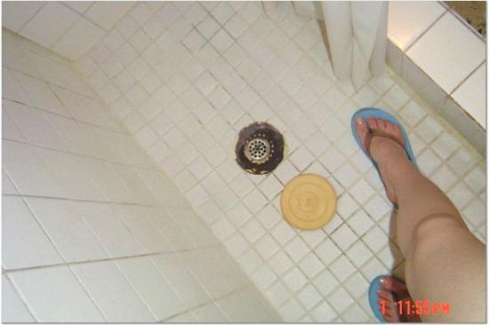 Posada Vistamar :  Beim Duschen sollten Sie Ihre Badesandalen an lassen