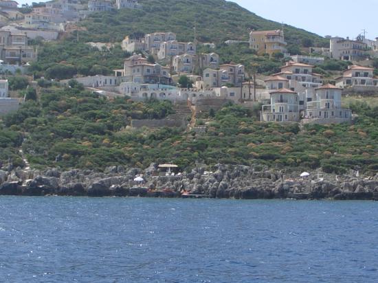 Deniz Feneri Lighthouse: Hotel From Boat