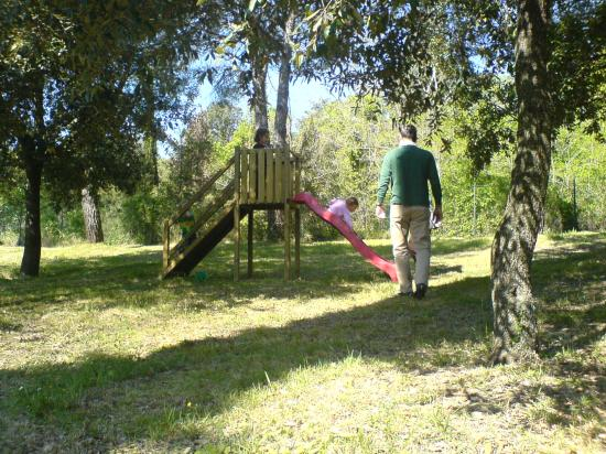 Fattoria San Donato: Playing in the park at San Donato