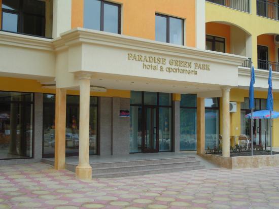 Paradise Green Park Hotel & Apartments : Hotel
