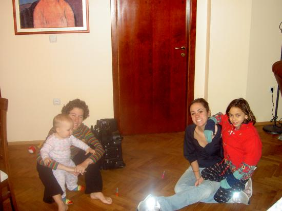 Casa Ferrari B&B: The day before we went to being a family of 5!