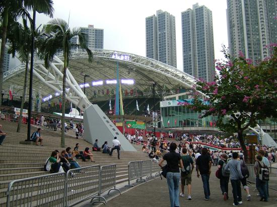 Hong Kong Stadium: Getting ready for the opening game 2007