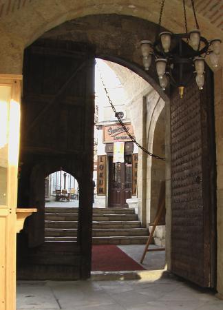 Cinci Han Hotel: Entry Gate
