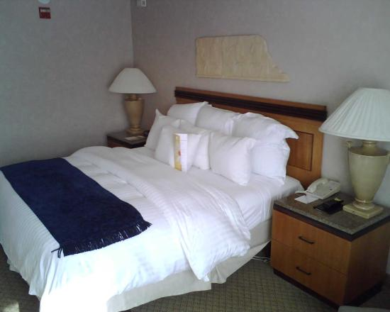 Chicago Marriott at Medical District/UIC: Comforable Bed