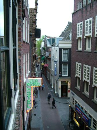 Hotel Prins Hendrik: View from our window room 221